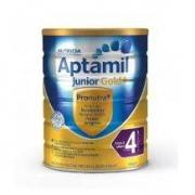 历史低价:Aptamil 爱他美金装 婴幼儿配方奶粉4段 900g*6件534元包邮(双重优惠)