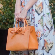 意大利产 ,Mansur Gavriel 女士 Sun Tote手袋