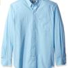 S码!IZOD  Essential Solid  男士长袖衬衫$12.18(折¥77.95) 3.7折