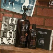 AMERICAN CREW 男士美国队员3合1茶树精华洗发沐浴露 450ML¥29