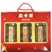 马来西亚进口! MacCoffee 美卡菲 金装冷冻干燥速溶咖啡礼盒300g(100g*3瓶)¥30.00 2.0折