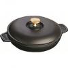 Prime会员:Staub 铸铁锅 20cm 黑色 带锅盖648.38元+77.15元含税直邮约726元