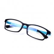 阻隔蓝光# 无度数防疲劳护眼防蓝光平面眼镜