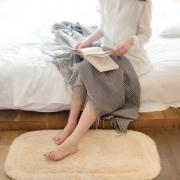 网易严选  全棉单面割绒浴室地垫 4色¥52