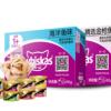 PLUS会员: whiskas 伟嘉 宠物 成猫妙鲜包 (金枪鱼+海洋鱼)5盒装 赠希宝猫罐头8罐 +凑单品 94.4元(双重优惠)¥78.67 2.3折