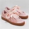 PUMA 彪马Basket Heart 天鹅绒女士蝴蝶板鞋折后价£30(约258元),免费直邮