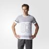 adidas阿迪达斯 男子短袖T恤97元包邮(尺码齐全)