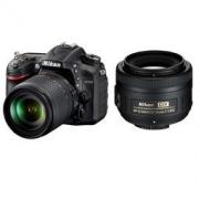 Nikon 尼康  D7200 中高端数码单反相机机身+(18-105mm +35mm/F1.8G)双镜头套装
