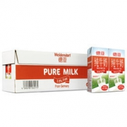 Weidendorf 德亚 全脂纯牛奶 200ml 30盒 普通装72元