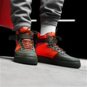 NIKE 耐克 SF AIR FORCE 1 MID QS机能运动鞋