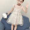 小公主必备!Dada Warwa/达人娃 女童连衣裙无袖网纱裙¥39.50 4.0折 比上一次爆料降低 ¥0.4