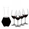 RIEDEL 礼铎 Accanto系列 波尔多红酒杯 4只装+ 梅洛型醒酒器1只¥549