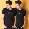 Emporio Armani 男士短袖T恤 2件装 *3套£75.57+£6.99直邮中国(需用码,约¥705)
