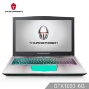 ThundeRobot 雷神 Dino 15.6英寸游戏本电脑 128G SSD+1T 8G GTX1060 6G RGB键盘7499元(需用券)