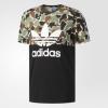 adidas阿迪达斯 S/S CAMO COLOR 男子短袖上衣160元包邮