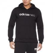 adidas NEO 阿迪达斯运动生活 CV9137 男式连帽套头卫衣129.8元包邮
