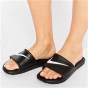 Nike 耐克Kawa Swoosh 洞洞澡堂拖鞋
