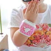 明星宝贝同款VAPE5倍HELLO KITTY儿童驱蚊手表*3件¥184.14含税包邮(3件8折)
