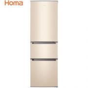PLUS会员:Homa 奥马 BCD-196DK 三门冰箱 196L