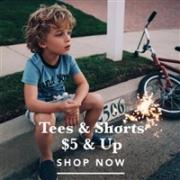 Gymboree金宝贝美国官网精选夏季新款童装限时闪购$4.99起今日无门槛免邮