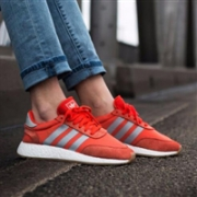 adidas Originals 阿迪达斯I-5923 iniki boost 女款休闲运动鞋 橘色款第二件半价折后$60,转运到手约¥460