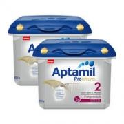 Aptamil 爱他美 白金版婴幼儿奶粉 2段 800g*2