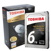 25日0点:TOSHIBA 东芝 N300 系列 6TB 7200转 128M SATA3 NAS(网络存储) 硬盘1479元包邮