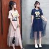 赠运费险!享柔 连衣裙女夏网纱两件套¥49.00 1.6折