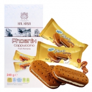 KARSA 咔咔莎 卡布奇诺味夹心饼干240g*2盒¥25