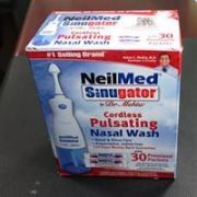 NeilMed's 电动脉冲式洗鼻器(缓解鼻炎 清洁鼻窦)