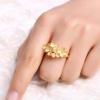 278元/g!CHJ 潮宏基 花团锦簇黄金戒指 5.35g¥1487.30 7.1折
