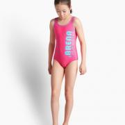 透气速干!Arena 阿瑞娜 女童专业运动连体泳衣¥99.00 5.0折