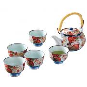 西海陶器 锦平安樱 茶壶茶具套装¥228