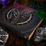 Xbox 官方晒黑豹主题定制版 Xbox One X主机,可参与免费抽奖