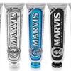 三种组合5只装!Marvis 玛尔斯 薄荷牙膏 组合套装(美白85ml*2+黑晶85ml*2+海洋薄荷85ml)¥155.00 6.3折
