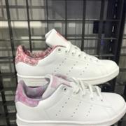 Adidas 阿迪达斯Stan Smith 泼墨尾/纹路尾休闲小白鞋特价$46+8%积分返现