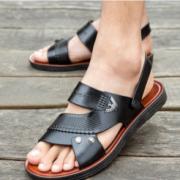 OLEBURGH/奥兰堡 男士拖鞋 一字拖沙滩鞋¥14.90 0.7折