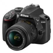 Nikon 尼康 D3400 入门单反套机(AF-P DX 尼克尔 18-55mm f/3.5-5.6G VR防抖镜头 )