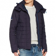 SuperDry  极度干燥 Quilted Arctic Windcheater 男士防风连帽夹克 M码
