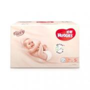 HUGGIES 好奇 铂金装 婴儿纸尿裤 小号 S96片 69元包邮(需用券)¥69.00