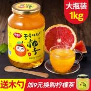 福事多 蜂蜜柚子茶 1000g 酸甜美味 补充维C