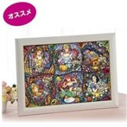 tenyo 教堂玻璃风 迪士尼公主系列拼图 500片