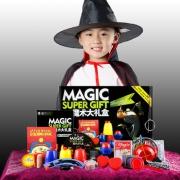 魔术8000 魔术道具礼盒套装 含30种魔术/光盘/说明书等