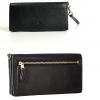 蔻驰(COACH)  Pebbled Leather Slim Wallet 女士真皮钱包¥420