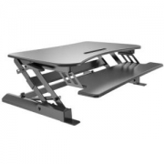 AOC APP47B 坐站交替升降台站立式办公升降桌人体工学电脑桌折叠移动笔记本轻便工作台799元