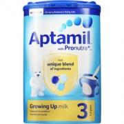 Aptamil 爱他美 婴幼儿配方奶粉 3段 900g*5件