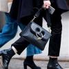 It bag,JW Anderson 女士中号Pierce手袋 黑色5折¥6855包邮包税