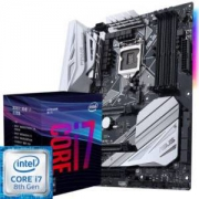 华硕(ASUS)PRIME Z370-A 主板(Intel Z370/LGA 1151)+英特尔 i7 8700 板U套装/主板+CPU套装