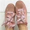 PUMA 彪马 VIKKY PLATFORM RIBBON 女士真皮丝带板鞋Prime会员到手低价¥323.16