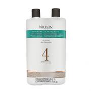 Nioxin 俪康丝 4号丰盈浓密洗护两件套(洗发水1L+护发素1L)